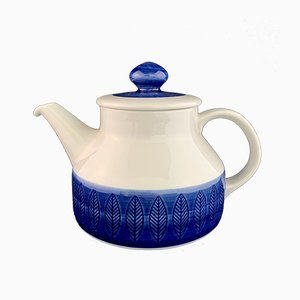 Koka Blå Tea Pot by Hertha Bengtsson for Rörstrand, 1956