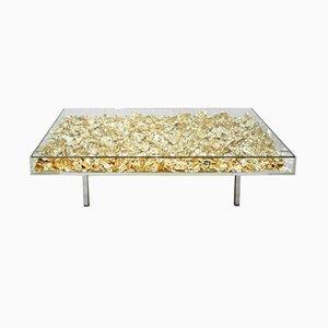 Tavolino da caffè Monogold di Yves Klein, Francia, inizio XXI secolo