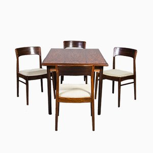 Table Extensible en Palissandre de HS Mobler, 1960s