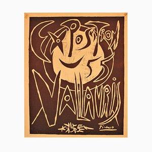Affiche d'Exposition de Vallauris par Pablo Picasso, 1955