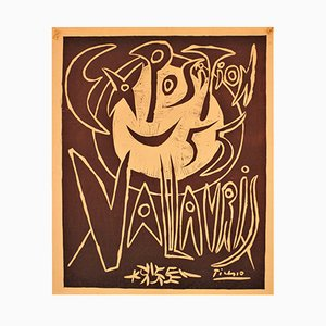 Exposition Vallauris Poster by Pablo Picasso, 1955