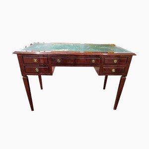 Bureau Style Louis XVI Vintage en Chêne