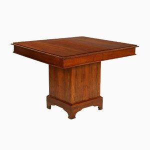 Tavolo da pranzo in legno, Italia, XIX secolo
