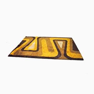 Mid-Century Multi-Colored Carpet, 1970s