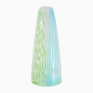 Vase aus Muranoglas von Dino Martens für Aureliano Toso, 1950er