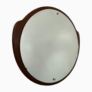 Vintage Teak Mirror, 1970s