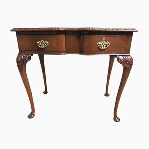 Walnut 2 Drawer Side Table from Waring & Gillow