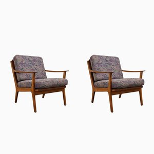 Mid-Century Danish Teak Easy Chairs 1960s, Set of 2