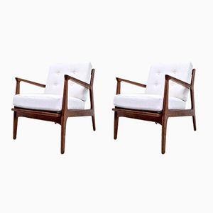Dänische Sessel von Ib Kofod Larsen für Selig, 1960er, 2er Set