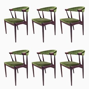 Danish BA113 Dining Chairs by Johannes Andersen, 1960s, Set of 6