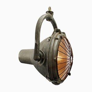 Projecteur Vintage en Fonte d'Aluminium de Couse-Hinds, États-Unis
