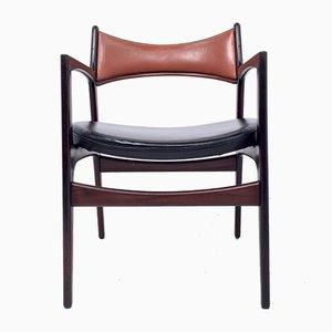 Armchair by Erik Buch fir CHR Christensens, 1960s