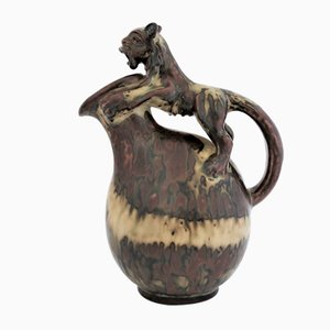 Scandinavian Stoneware Jug by Bode Willumsen for Royal Copenhagen, 1930s