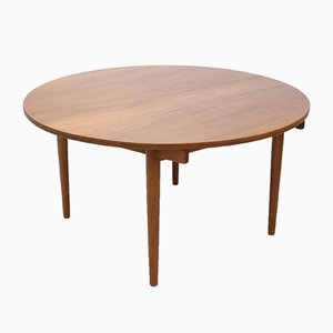 Teak Dining Table by Hans J. Wegner for Johannes Hansen, 1950s