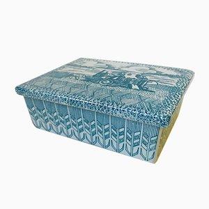 Boîte à Bijoux en Porcelaine par Paul Hoyrup pour Nymolle, Danemark, 1970s