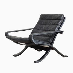 Vintage Flex Lounge Chair by Ingmar Relling for Westnofa, 1960s