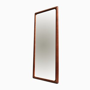 Dänischer Spiegel mit Rahmen aus Teak von Johannes Andersen für CFC Silkeborg, 1960er