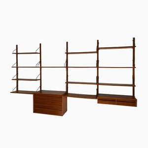 Vintage Scandinavian Teak Wall System by Poul Cadovius for Cado