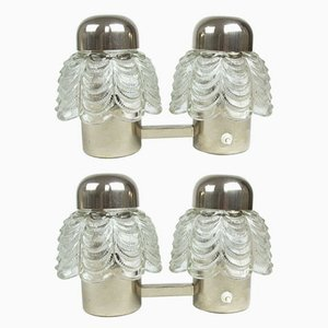 Double Sconces from Narva, 1970s, Set of 2