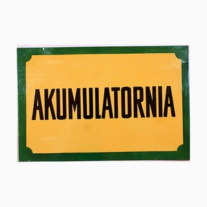 Akumulatornia Sign, 1950s