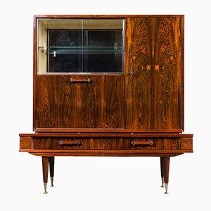 Mueble bar vintage de palisandro, años 50
