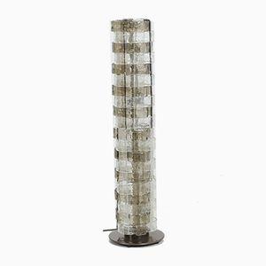 Lámpara de pie de cristal de Murano de Carlo Nason para Mazzega, años 60