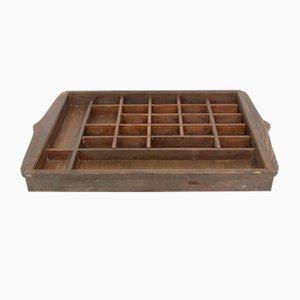 Vintage Aufbewahrungskiste aus Holz
