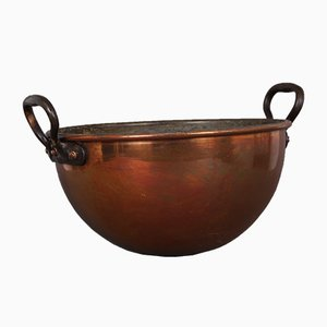 Danish Copper Pot, 1850s