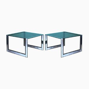 Side Tables by Romeo Rega, 1970s, Set of 2