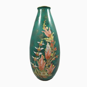 Hand-Painted Vase from Rosenthal, 1950s