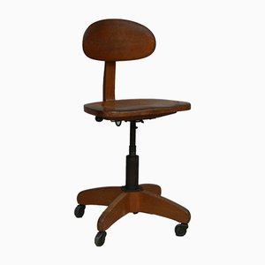 Vintage Workshop Swivel Chair from Stoll, 1930s