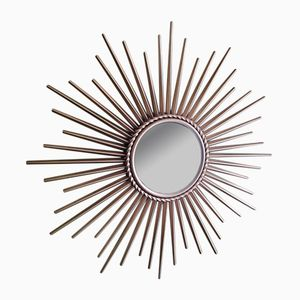 Vintage Sunburst Mirror by Chaty Vallauris, 1950s