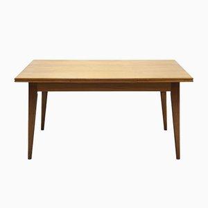 Großer ausziehbarer Esstisch aus Teak, 1960er
