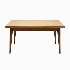 Large Extendable Teak Dining Table, 1960s