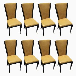 Chairs by Jannace & Kovacs, 1950s, Set of 8