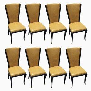 Stühle von Jannace & Kovacs, 1950er, 8er Set
