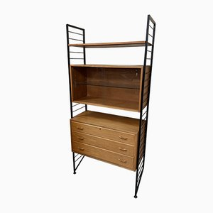 Mid-Century Ladderax Shelving Unit from Staples Cricklewood