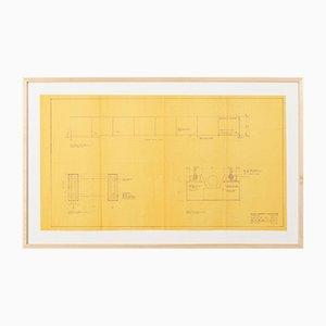 Plano de Ludwig Mies van der Rohe, 1964
