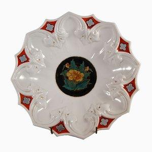 Piatto antico decorativo di Carl Tielsch & Co.