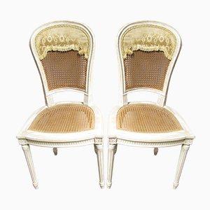 Französische Vintage Stühle, 1920er, 2er Set