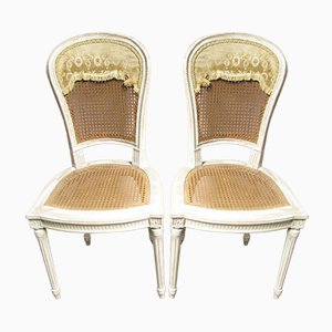 Vintage French Chairs, 1920s, Set of 2