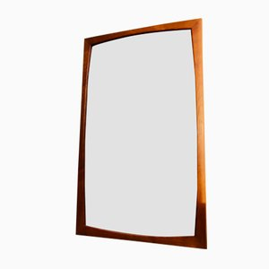 Vintage Danish Teak Wall Mirror from Aksel Kjersgaard, 1960s