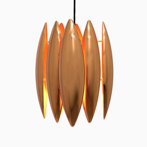 Kastor Copper Pendant by Jo Hammerborg for Fog & Mørup, 1960s