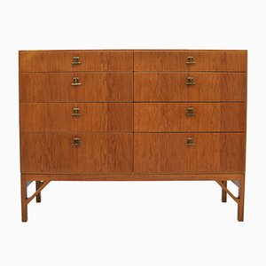 Oak Chest of Drawers by Børge Mogensen for FDB, 1950s