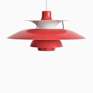 Lampada PH5 Pendulum vintage di Poul Henningsen per Louis Poulsen