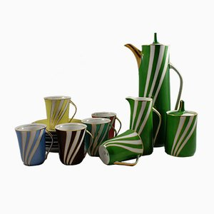 Krokus Porcelain Set by Wincenty Potacki for Ćmielów, 1960s