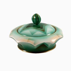 Art Deco Porcelain Casket