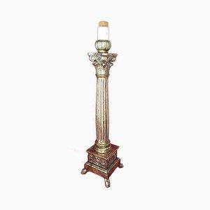 Candelabro de iglesia del siglo XVIII