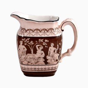 Antiker Krug von Krister Porzellan Manufaktur