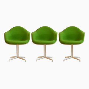 La Fonda Chairs by Charles & Ray Eames for Herman Miller, 1960s, Set of 3